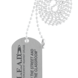 Aluminum Stamped Dog Tag
