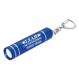 Aluminum LED Light/Lantern with Key Clip